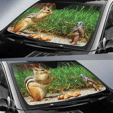 Load image into Gallery viewer, Funny Squirrel Car Sun Shades 918b Universal Fit - CarInspirations