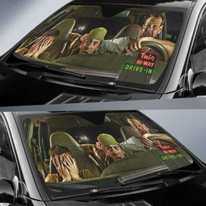 Funny Truck Car Sun Shades 918b Universal Fit - CarInspirations