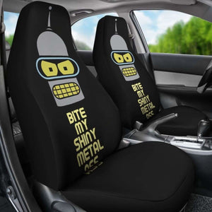 Futurama Bender Funny Cartoon Seat Covers 101719 Universal Fit - CarInspirations