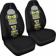 Load image into Gallery viewer, Futurama Bender Funny Cartoon Seat Covers 101719 Universal Fit - CarInspirations