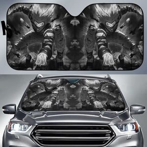 Garou One Punch Man Anime Auto Sun Shade Nh07 Universal Fit 111204 - CarInspirations