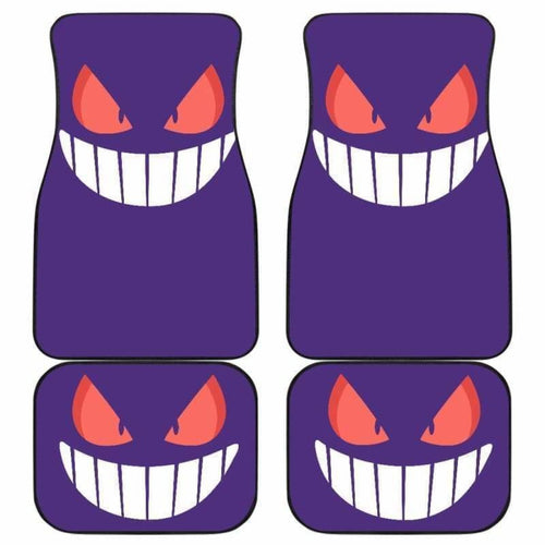 Gengar Pokemon Car Floor Mats Universal Fit 051912 - CarInspirations