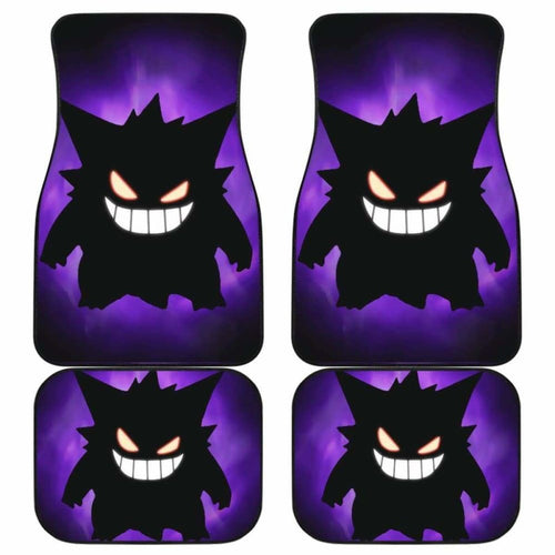 Gengar Pokemon Car Floor Mats Universal Fit - CarInspirations