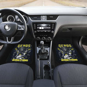Genos One Punch Man Car Mats Universal Fit - CarInspirations