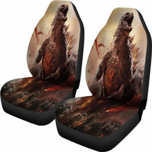 Load image into Gallery viewer, Godzilla 2019 Car Seat Covers 1 Universal Fit 051012 - CarInspirations