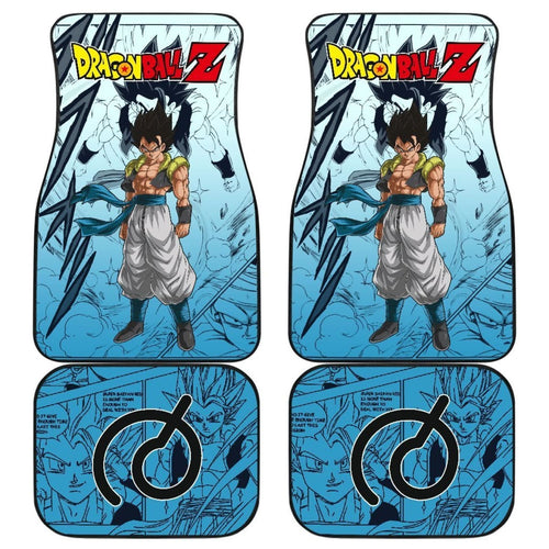 Gogeta Bue Dragon Ball Z Car Floor Mats Manga Mixed Anime Universal Fit 175802 - CarInspirations