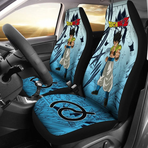 Gogeta Characters Dragon Ball Z Car Seat Covers Manga Mixed Anime Universal Fit 194801 - CarInspirations