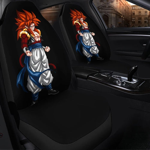Gogeta Dragon Ball Best Anime 2020 Seat Covers Amazing Best Gift Ideas 2020 Universal Fit 090505 - CarInspirations