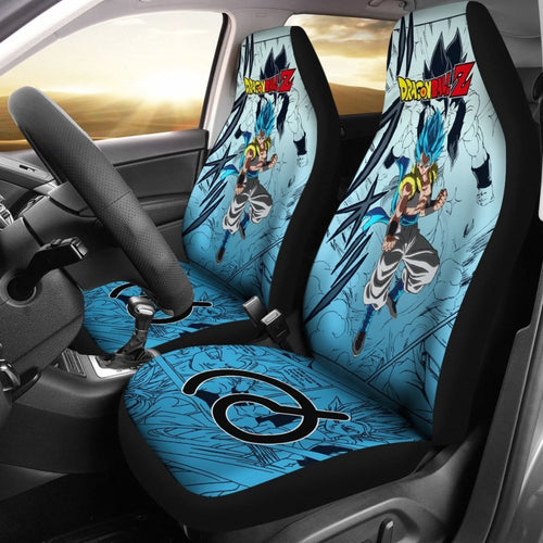 Gogeta Dragon Ball Z Car Seat Covers Manga Mixed Anime Strong Universal Fit 194801 - CarInspirations