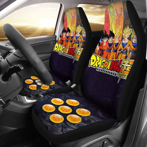 Goku All Form Dragon Ball Anime Car Seat Covers Universal Fit 051012 - CarInspirations