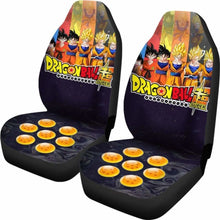Load image into Gallery viewer, Goku All Form Dragon Ball Anime Car Seat Covers Universal Fit 051012 - CarInspirations