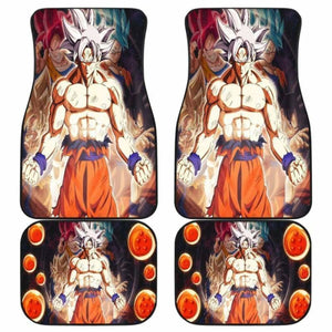 Goku Dragon Ball Car Floor Mats Universal Fit 051912 - CarInspirations