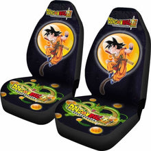 Load image into Gallery viewer, Goku Fighting Shenron Dragon Ball Anime Car Seat Covers 5 Universal Fit 051012 - CarInspirations
