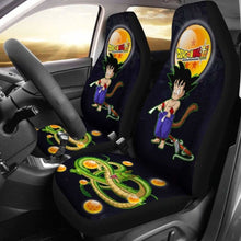 Load image into Gallery viewer, Goku Funny Shenron Dragon Ball Anime Car Seat Covers 3 Universal Fit 051012 - CarInspirations