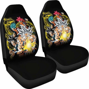 Goku God Blue Ultra Instinct Car Seat Covers Universal Fit 051012 - CarInspirations