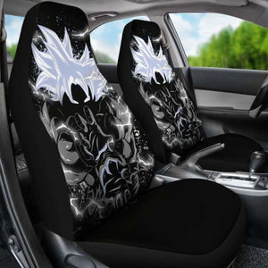 Goku Mastered Instinct Kamehameha Car Seat Covers Universal Fit 051012 - CarInspirations