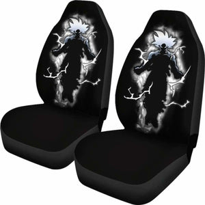 Goku Perfect Ultra Instinct Car Seat Covers Universal Fit 051012 - CarInspirations