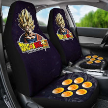 Load image into Gallery viewer, Goku Super Saiyan 1 Dragon Ball Anime Car Seat Covers (Set Of 2) Universal Fit 051012 - CarInspirations