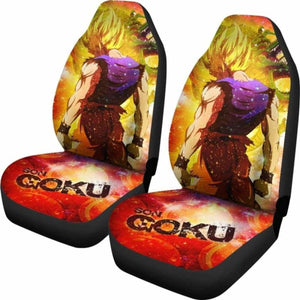 Goku Super Saiyan 2019 Car Seat Covers Universal Fit 051012 - CarInspirations