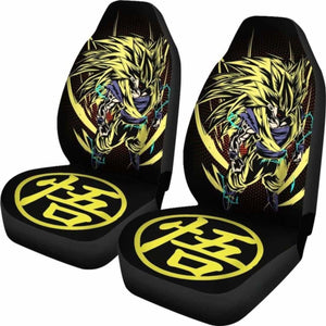 Goku Super Saiyan 3 Car Seat Covers Universal Fit 051012 - CarInspirations