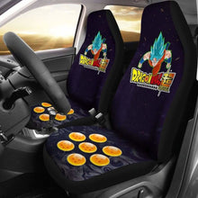 Load image into Gallery viewer, Goku Super Saiyan Blue Dragon Ball Anime Car Seat Covers 3 Universal Fit 051012 - CarInspirations