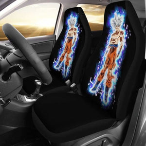 Goku Ultra Instinct Car Seat Covers Universal Fit 051312 - CarInspirations