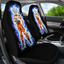 Load image into Gallery viewer, Goku Ultra Instinct Car Seat Covers Universal Fit 051312 - CarInspirations