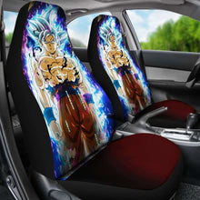 Load image into Gallery viewer, Goku Ultra Instinct Car Seat Universal Fit 051012 - CarInspirations