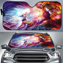 Load image into Gallery viewer, Goku Ultra Instinct Vs Thanos Auto Sun Shades 918b Universal Fit - CarInspirations
