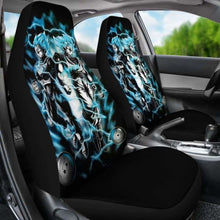 Load image into Gallery viewer, Goku Vegeta Blue Car Seat Covers 2 Universal Fit 051012 - CarInspirations