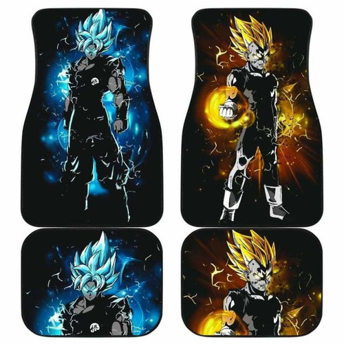 Goku Vegeta Car Floor Mats Universal Fit 051512 - CarInspirations