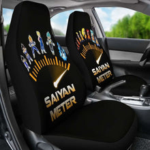 Load image into Gallery viewer, Goku Vegeta Meter Car Seat Covers Universal Fit - CarInspirations