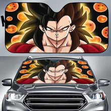 Load image into Gallery viewer, Goku Vegeta SSJ4 Car Sun Shades 918b Universal Fit - CarInspirations