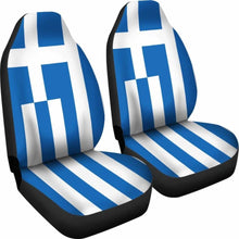 Load image into Gallery viewer, Greece Flag Car Seat Covers 100421 Universal Fit - CarInspirations
