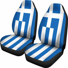 Load image into Gallery viewer, Greece Flag Car Seat Covers Universal Fit 051012 - CarInspirations