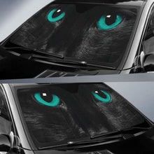 Load image into Gallery viewer, Green Cat Eyes Car Sun Shades 918b Universal Fit - CarInspirations