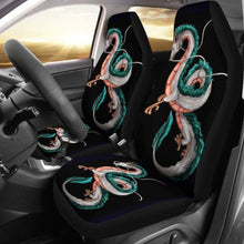 Load image into Gallery viewer, Haku Spirited Away Car Seat Covers Universal Fit 051012 - CarInspirations