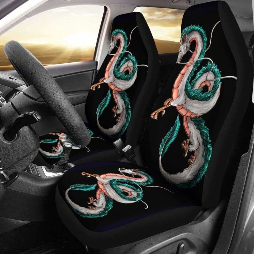 Haku Spirited Away Car Seat Covers Universal Fit 051012 - CarInspirations