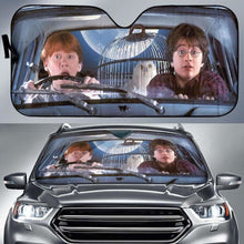 Load image into Gallery viewer, Harry Potter And Ron Auto Sun Shades 918b Universal Fit - CarInspirations