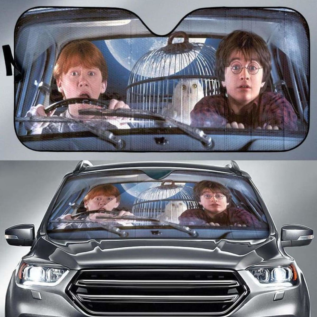 Harry Potter And Ron Auto Sun Shades 918b Universal Fit - CarInspirations