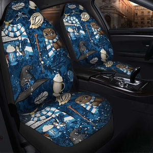 Harry Potter Seat Covers 1 101719 Universal Fit - CarInspirations