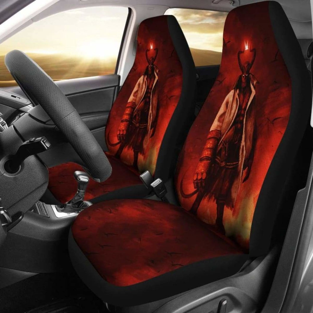 Hellboy 2019 Car Seat Covers Universal Fit 051012 - CarInspirations