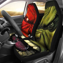 Load image into Gallery viewer, Hulk Cartoon Marvel Car Seat Covers Universal Fit 051012 - CarInspirations