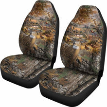 Load image into Gallery viewer, Hunting Camo Car Seat Covers 234929 Universal Fit - CarInspirations