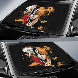 Ichigo Bleach Car Sun Shades 918b Universal Fit - CarInspirations