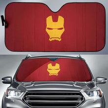 Load image into Gallery viewer, Iron Man Auto Sun Shades 918b Universal Fit - CarInspirations