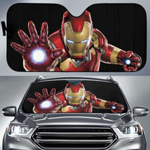 Load image into Gallery viewer, Iron Man Car Auto Sun Shade 211626 Universal Fit - CarInspirations