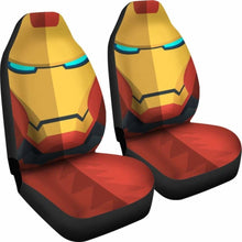 Load image into Gallery viewer, Iron Man Cartoon Seat Covers 101719 Universal Fit - CarInspirations