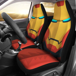 Iron Man Cartoon Seat Covers 101719 Universal Fit - CarInspirations
