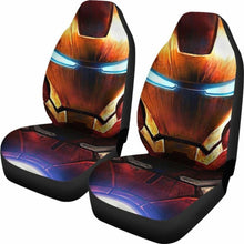 Load image into Gallery viewer, Iron Man Face Car Seat Covers Universal Fit 051012 - CarInspirations